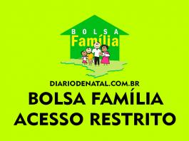 Bolsa Família Acesso Restrito 2021