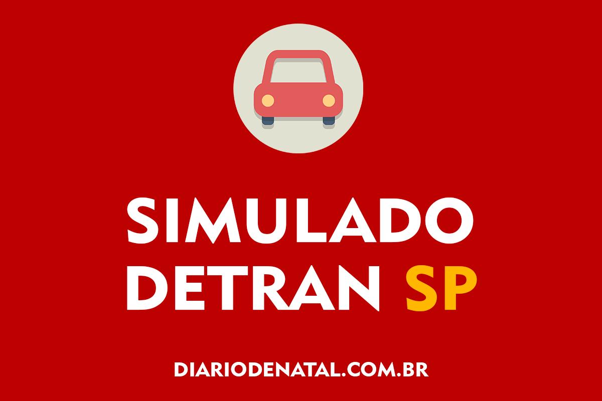 Simulado Detran SP 2021