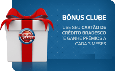 Bonus Clube bradesco