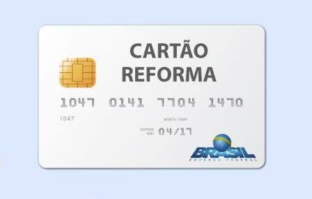 Cartão Reforma Fácil