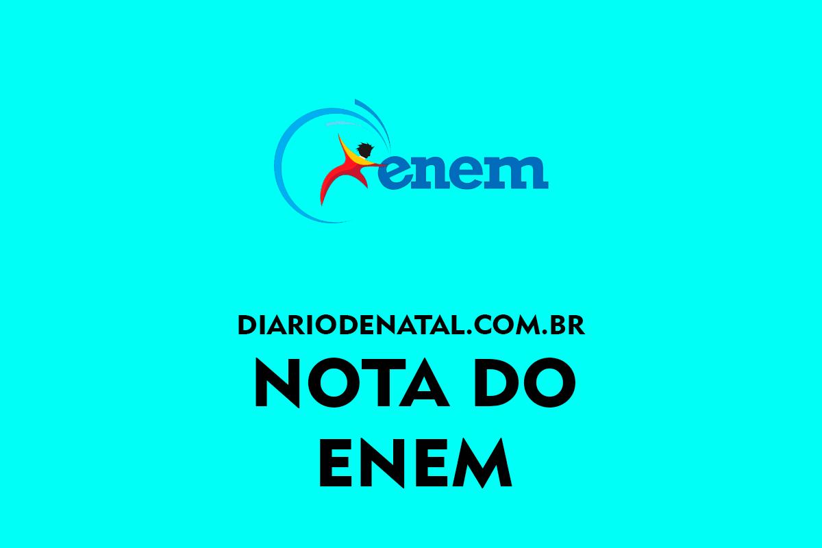 Nota do ENEM 2022