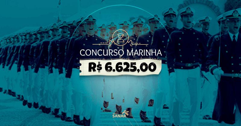 Salário Concurso Marinha 2022