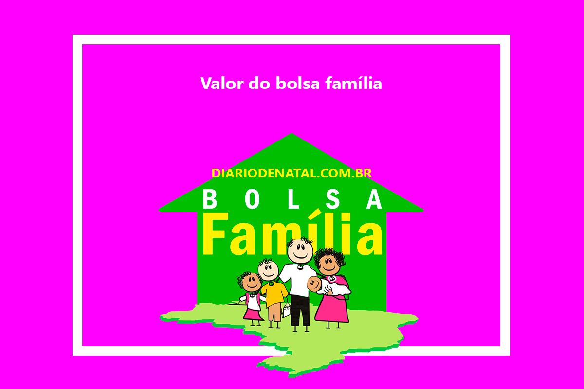 Valor do Bolsa Família 2022