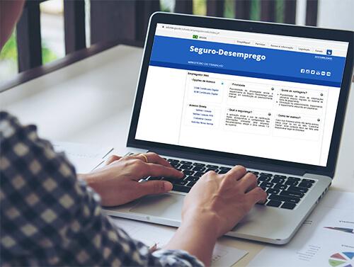 Seguro Desemprego Web com Certificado Digital