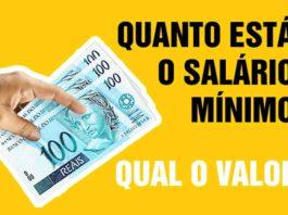 Salário Mínimo 2022 - Confira o valor do mínimo 2022