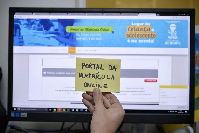 Matrícula SEED SE online 2021
