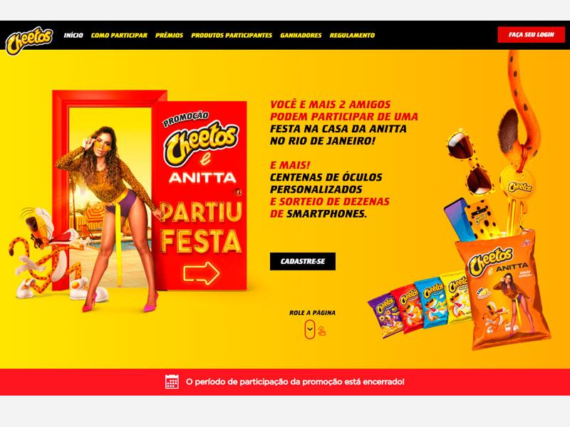 Promoção Cheetos 2021