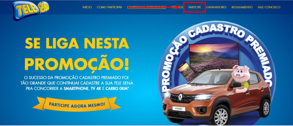 Promoção Tele Sena 2022