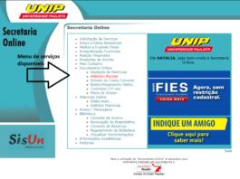 UNIP Secretaria Online