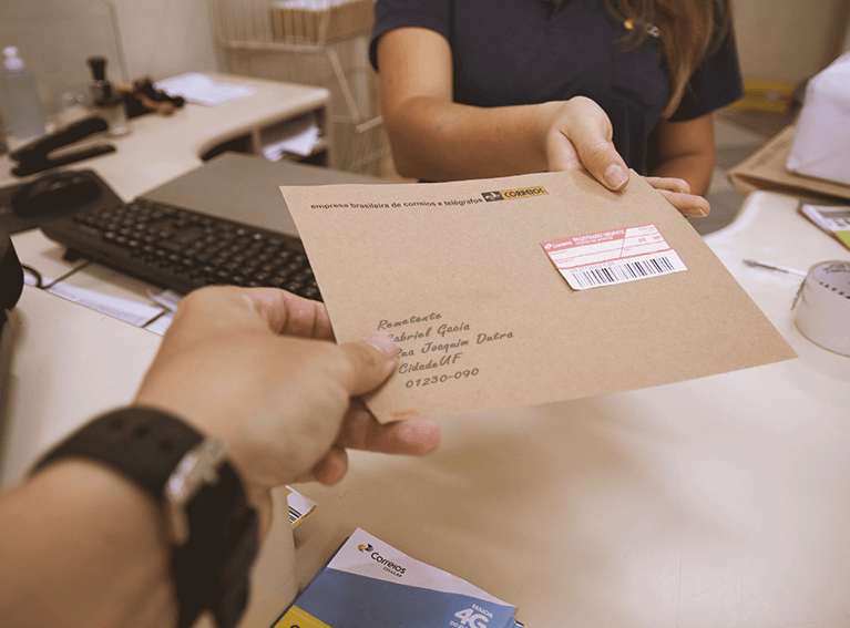 Carta Registrada Correios