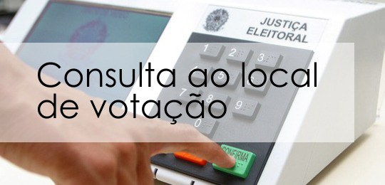 Como Sacar o Local de Votação