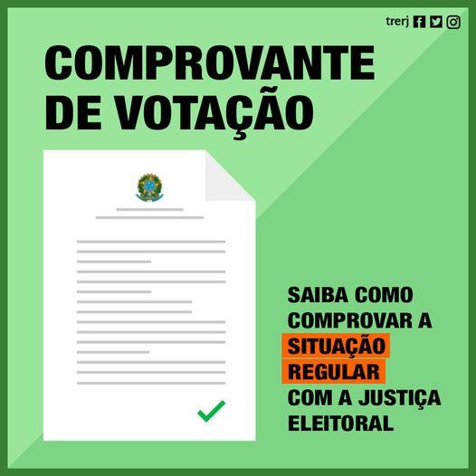 Comprovante de Votação