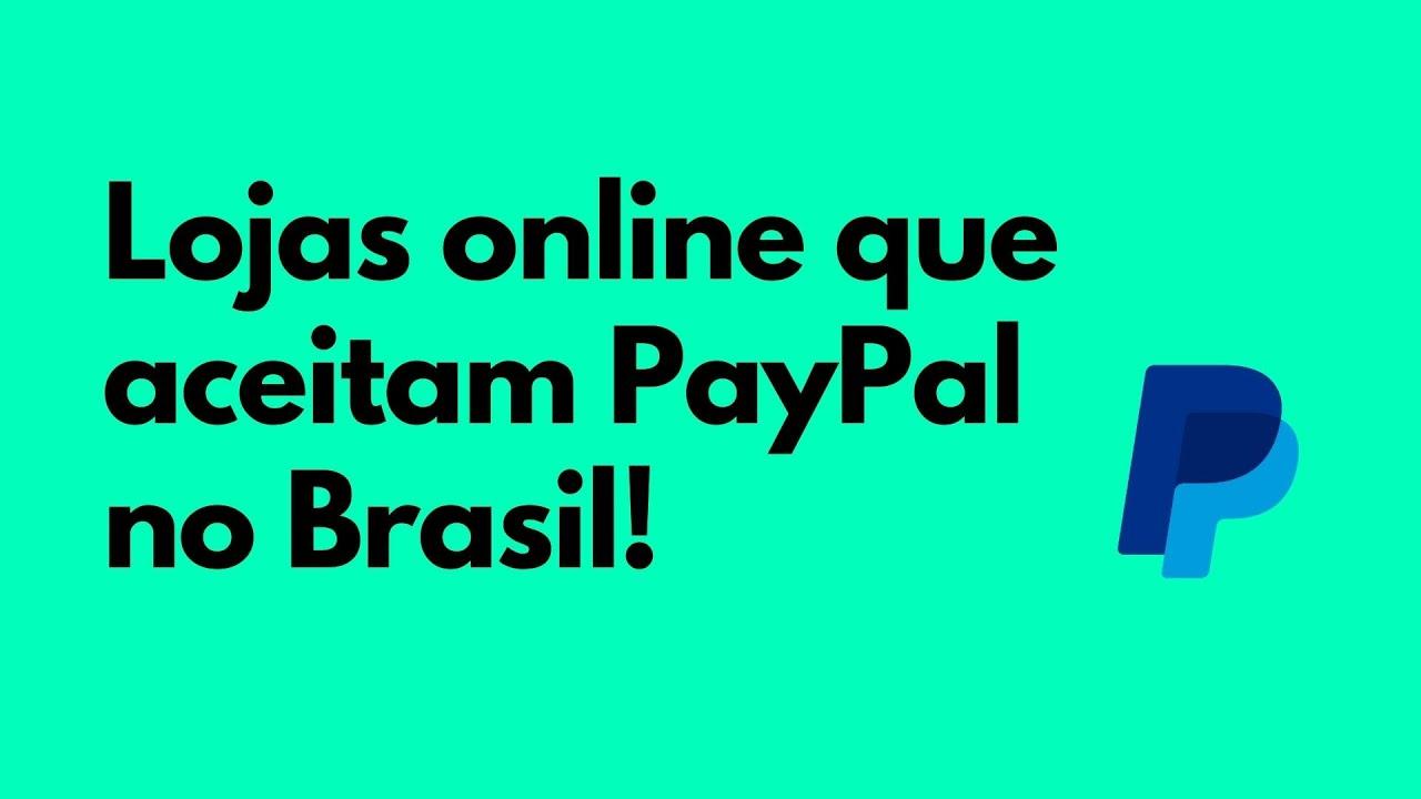 Lojas que Aceitam Paypal